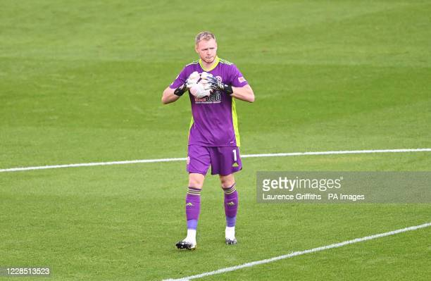 Sheffield United goalkeeper Aaron Ramsdale before the Premier League match at Bramall Lane, Sheffield.