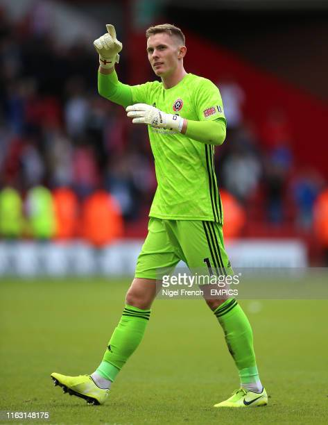 Sheffield United goalkeeper Dean Henderson Sheffield United v Crystal Palace Premier League Bramall Lane