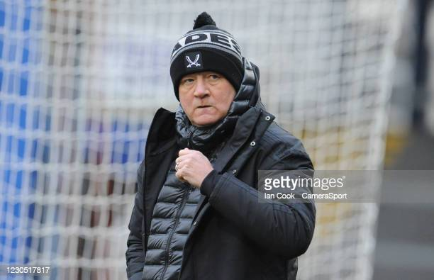 Sheffield United manager Chris Wilder during the FA Cup Third Round match between Bristol Rovers and Sheffield United at Memorial Stadium on January...