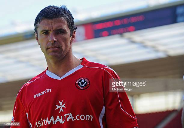 Sheffield United manager Gary Speed looks on before the npower Championship match between Middlesbrough and Sheffield United at the Riverside Stadium...