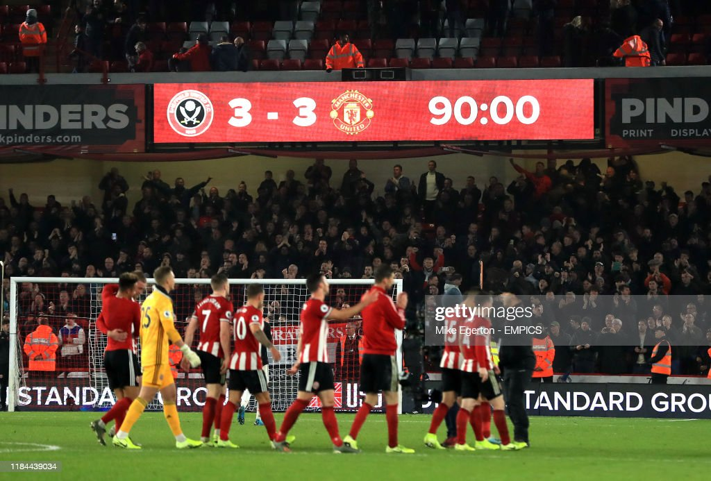 Sheffield United v Manchester United - Premier League - Bramall Lane : News Photo