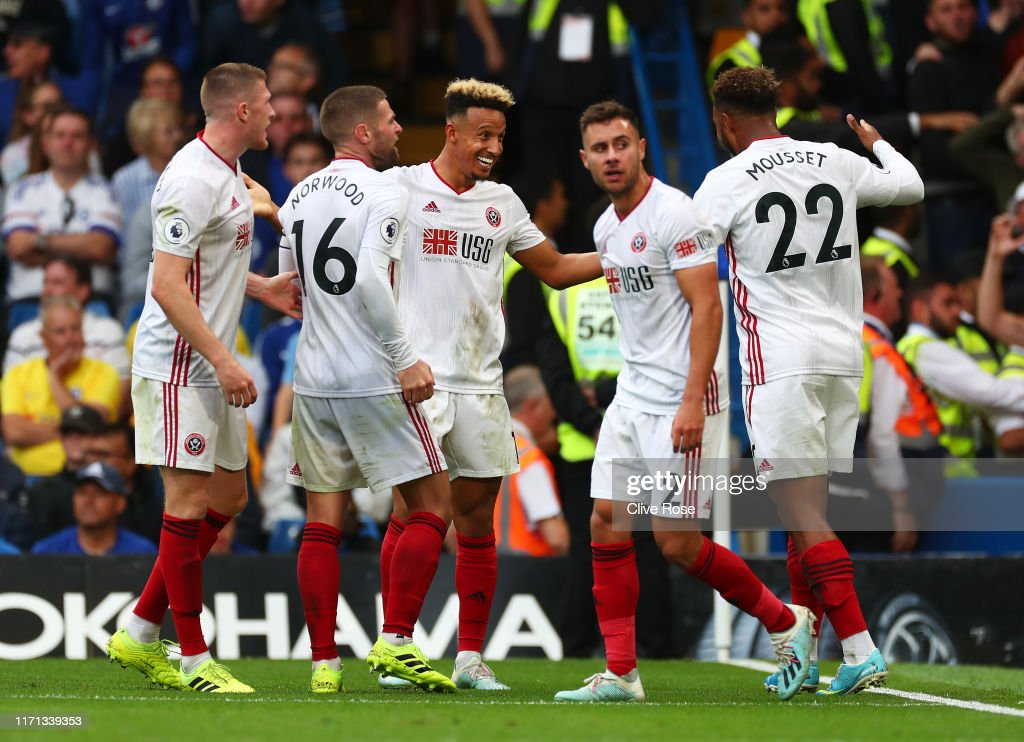 Chelsea FC v Sheffield United - Premier League : News Photo