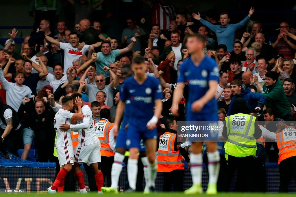 FBL-ENG-PR-CHELSEA-SHEFFIELD UTD : News Photo