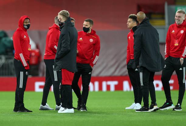 GBR: Liverpool v Sheffield United - Premier League