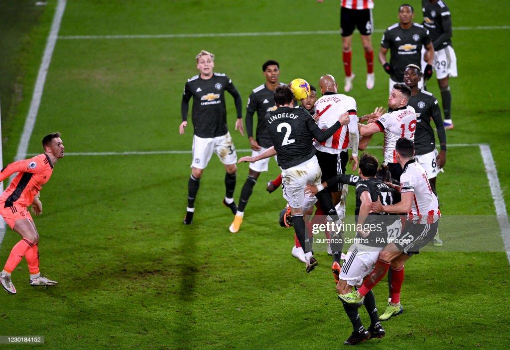 Sheffield United v Manchester United - Premier League - Bramall Lane : News Photo