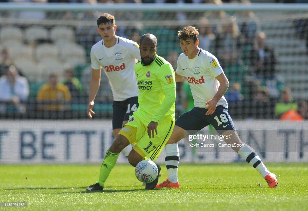 Preston North End v Sheffield United - Sky Bet Championship : News Photo