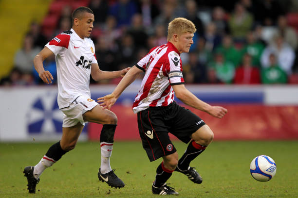 Soccer Fa Youth Cup Final First Leg Sheffield United V