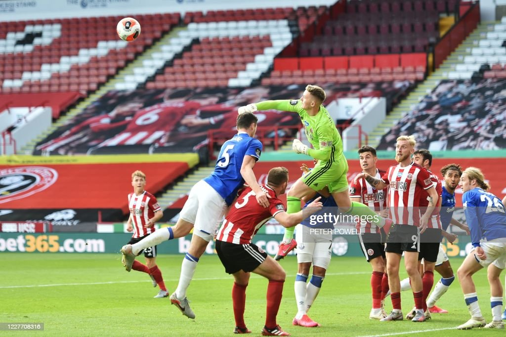 FBL-ENG-PR-SHEFFIELD UTD-EVERTON : News Photo