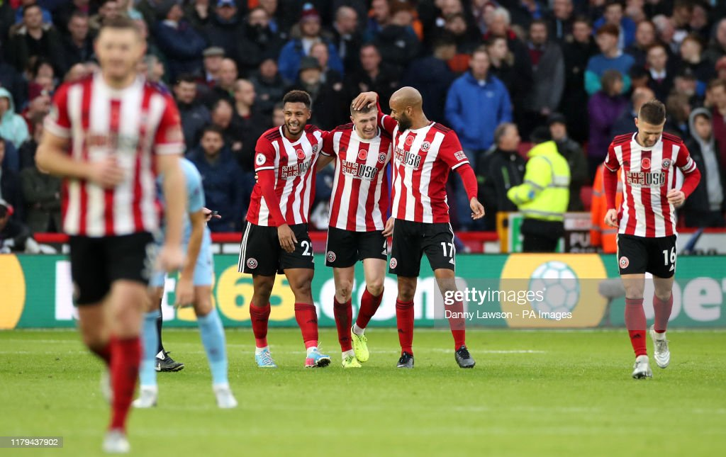 Sheffield United v Burnley - Premiership - Bramall Lane : News Photo