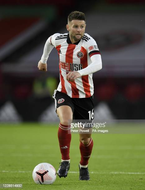 Sheffield United's Oliver Norwood during the Premier League match at Bramall Lane, Sheffield.