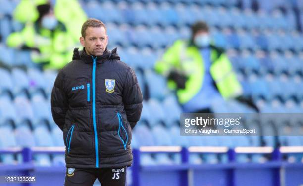 Sheffield Wednesday assistant manager Jamie Smith during the Sky Bet Championship match between Sheffield Wednesday and Cardiff City at Hillsborough...