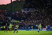sheffield england sheffield wednesday fans hold