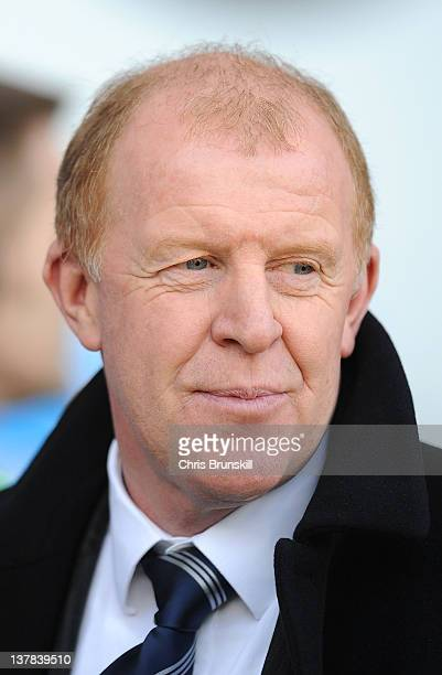 Sheffield Wednesday manager Gary Megson looks on during the Budweiser sponsored FA Cup Fourth Round match between Blackpool and Sheffield Wednesday...