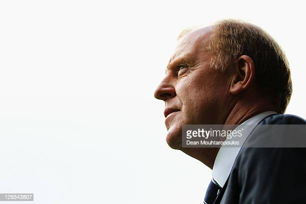 Sheffield Wednesday Manager Gary Megson looks on during the npower League One match between Sheffield United and Sheffield Wednesday at Bramall Lane...