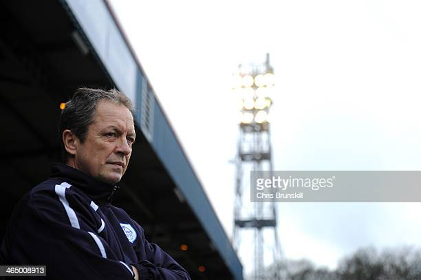 Sheffield Wednesday manager Stuart Gray looks on during the FA Cup with Budweiser Fourth Round match between Rochdale and Sheffield Wednesday at...