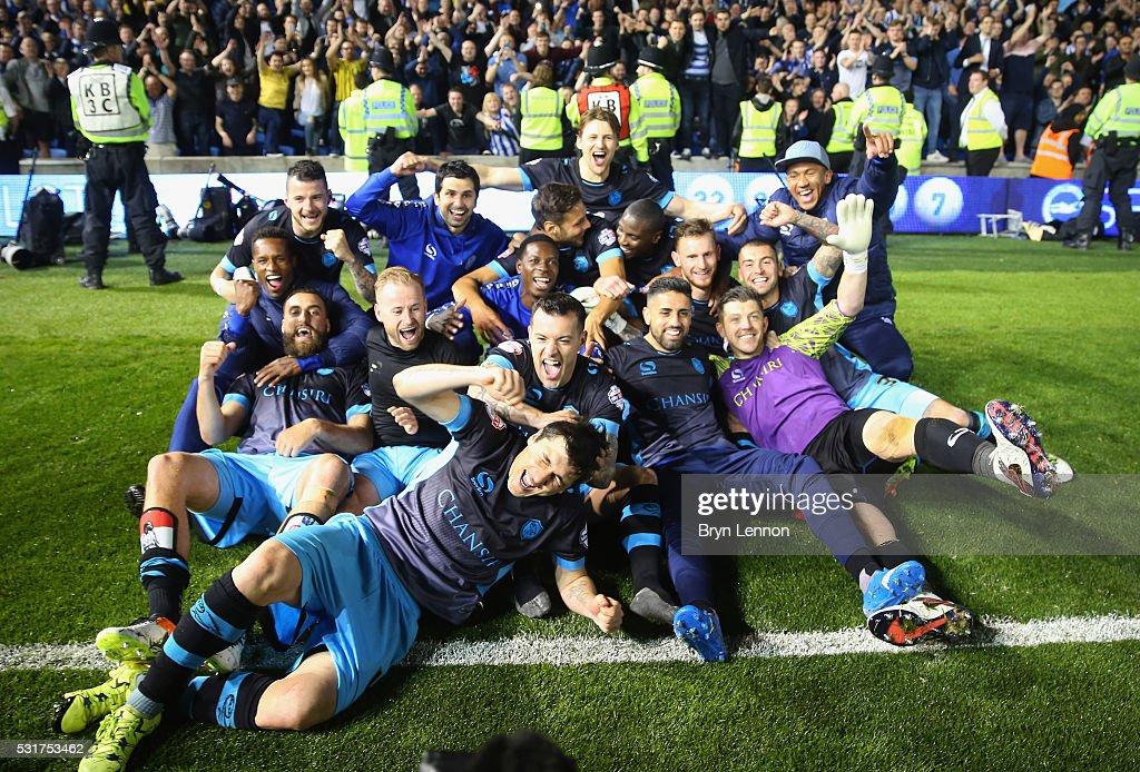 Brighton & Hove Albion v Sheffield Wednesday - Sky Bet Championship Play Off: Second Leg : News Photo