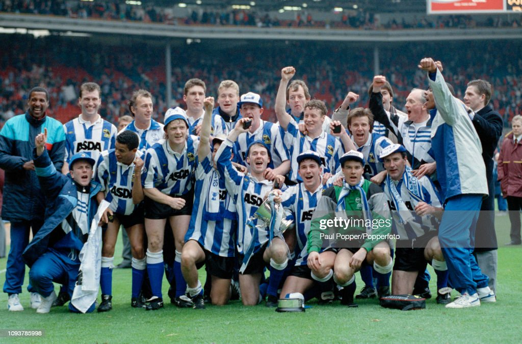 Manchester United v Sheffield Wednesday - 1991 Football League Cup Final : News Photo