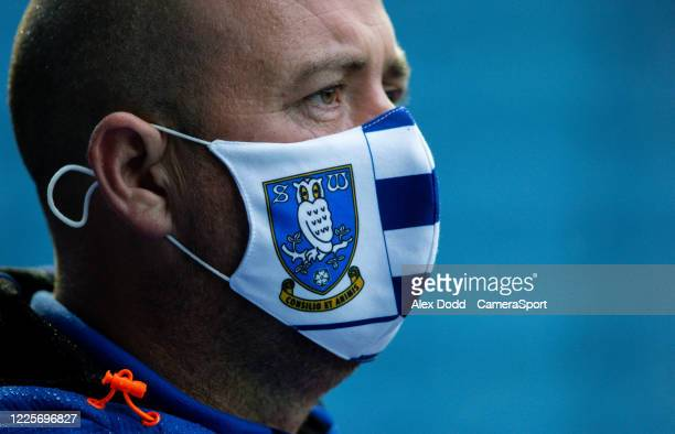 Sheffield Wednesday steward watches on during the Sky Bet Championship match between Sheffield Wednesday and Preston North End at Hillsborough...