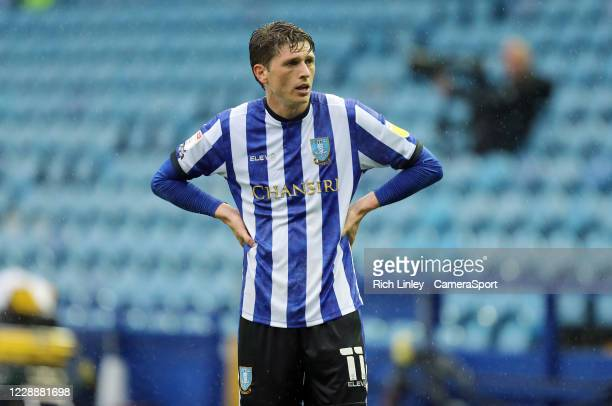 Sheffield Wednesday's Adam Reach during the Sky Bet Championship match between Sheffield Wednesday and Queens Park Rangers at Hillsborough Stadium on...