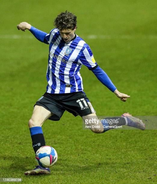 Sheffield Wednesday's Adam Reach during the Sky Bet Championship match between Sheffield Wednesday and Derby County at Hillsborough Stadium on...