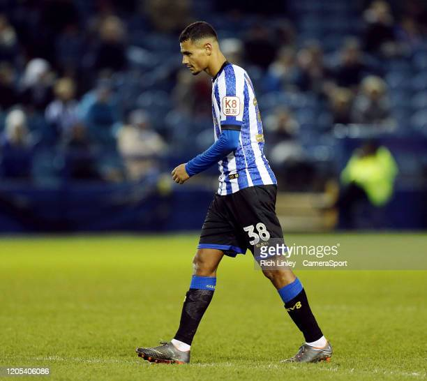 Sheffield Wednesday's Alessio da Cruz during the FA Cup Fifth Round match between Sheffield Wednesday and Manchester City at Hillsborough on March 4...