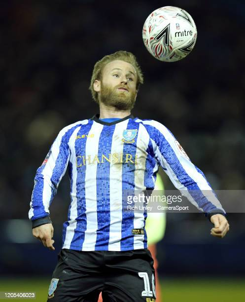 Sheffield Wednesday's Barry Bannan during the FA Cup Fifth Round match between Sheffield Wednesday and Manchester City at Hillsborough on March 4...