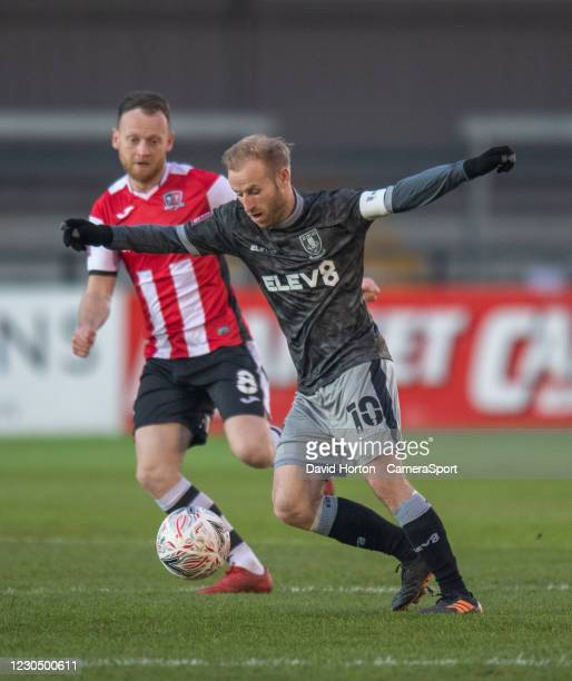 Sheffield Wednesday's Barry Bannan during the FA Cup Third Round match between Exeter City and Sheffield Wednesday at St James Park on January 9,...