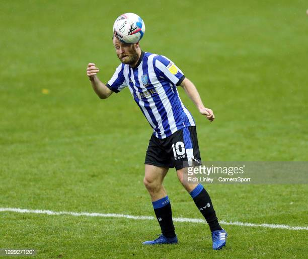 Sheffield Wednesday's Barry Bannan during the Sky Bet Championship match between Sheffield Wednesday and Luton Town at Hillsborough Stadium on...