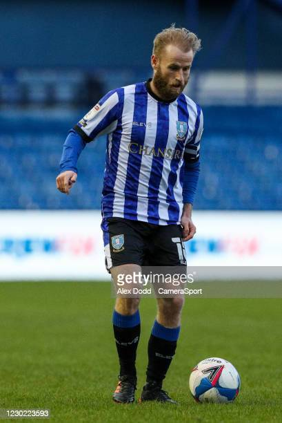 Sheffield Wednesday's Barry Bannan during the Sky Bet Championship match between Sheffield Wednesday and Coventry City at Hillsborough Stadium on...