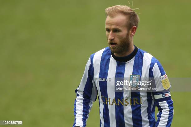 Sheffield Wednesday's Barry Bannan during the Sky Bet Championship match between Sheffield Wednesday and Preston North End at Hillsborough Stadium on...