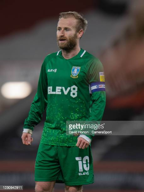 Sheffield Wednesday's Barry Bannan during the Sky Bet Championship match between AFC Bournemouth and Sheffield Wednesday at Vitality Stadium on...