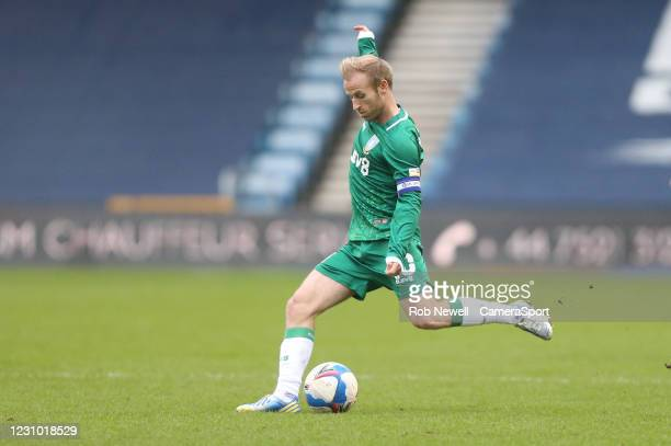 Sheffield Wednesday's Barry Bannan during the Sky Bet Championship match between Millwall and Sheffield Wednesday at The Den on February 6, 2021 in...