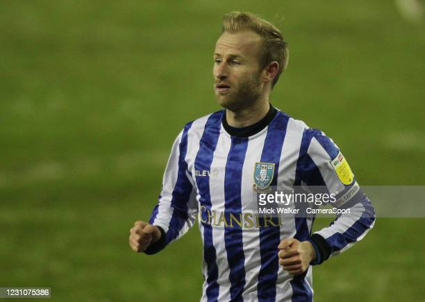 Sheffield Wednesday's Barry Bannan during the Sky Bet Championship match between Sheffield Wednesday and Wycombe Wanderers at Hillsborough Stadium on...