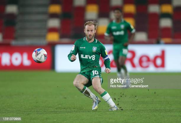 Sheffield Wednesday's Barry Bannan during the Sky Bet Championship match between Brentford and Sheffield Wednesday at Brentford Community Stadium on...