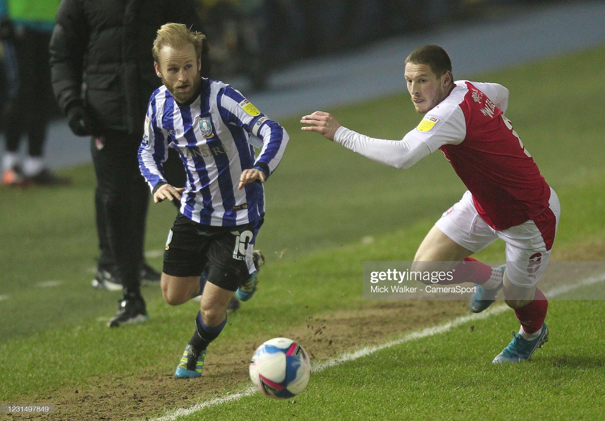 Sheffield Wednesday v Rotherham United - Sky Bet Championship : News Photo
