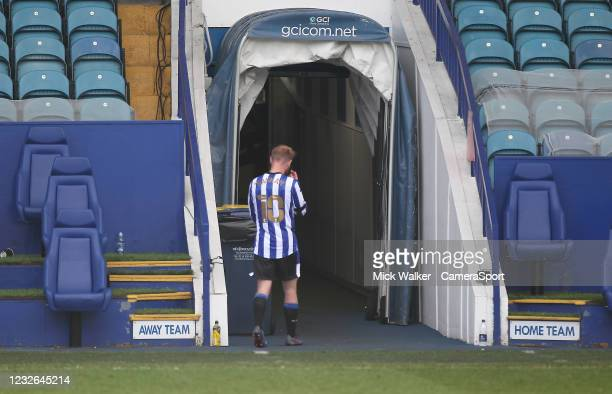 Sheffield Wednesday's Barry Bannan leaves the pitch at the end of the game during the Sky Bet Championship match between Sheffield Wednesday and...