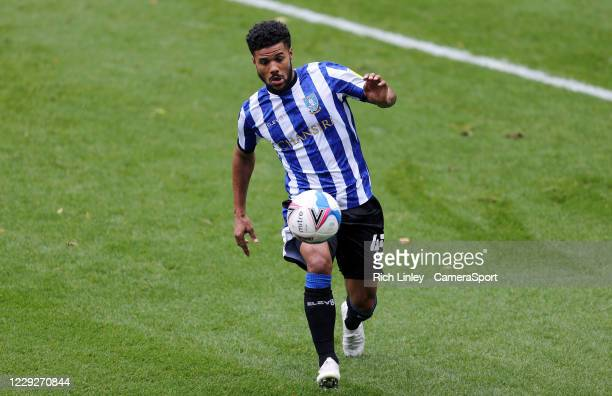 Sheffield Wednesday's Elias Kachunga during the Sky Bet Championship match between Sheffield Wednesday and Luton Town at Hillsborough Stadium on...