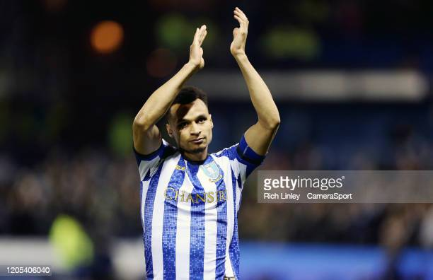 SHEFFIELD ENGLAND MARCH Sheffield Wednesday's Jacob Murphy during the FA Cup Fifth Round match between Sheffield Wednesday and Manchester City at...