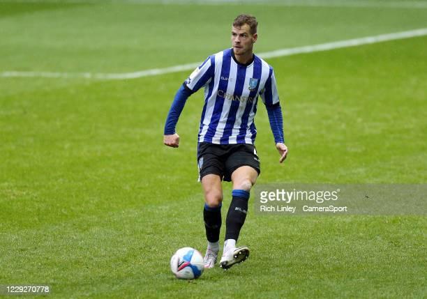 Sheffield Wednesday's Joost van Aken during the Sky Bet Championship match between Sheffield Wednesday and Luton Town at Hillsborough Stadium on...