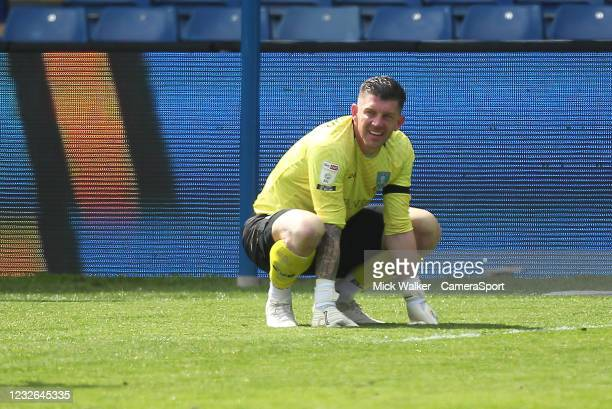 Sheffield Wednesday's Keiren Westwood during the Sky Bet Championship match between Sheffield Wednesday and Nottingham Forest at Hillsborough Stadium...