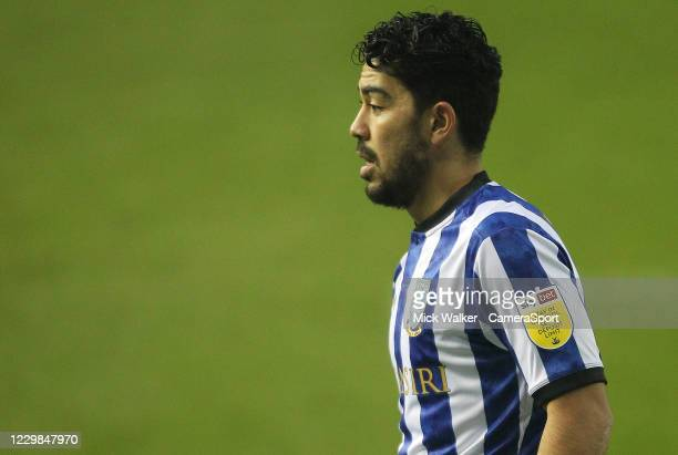Sheffield Wednesday's Massimo Luongo during the Sky Bet Championship match between Sheffield Wednesday and Stoke City at Hillsborough Stadium on...