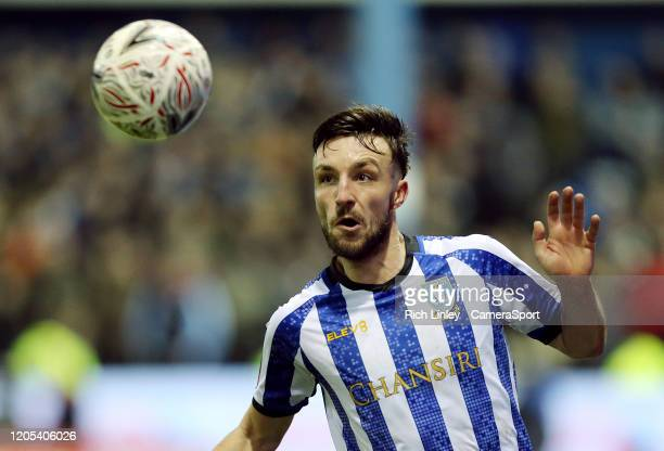 Sheffield Wednesday's Morgan Fox during the FA Cup Fifth Round match between Sheffield Wednesday and Manchester City at Hillsborough on March 4 2020...