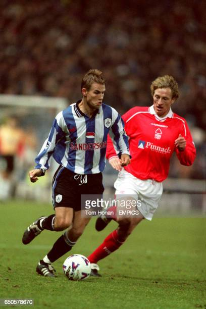 Sheffield Wednesday's Niclas Alexandersson gets away from Nottingham Forest's Scot Gemmill