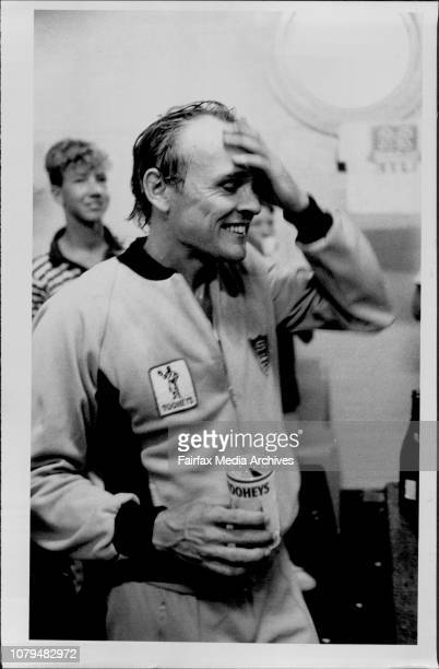 Shefield Shield Final at the SCG NSW VS Qld NSW won the dayNSW skipper Wellham can't believe ***** won March 18 1986