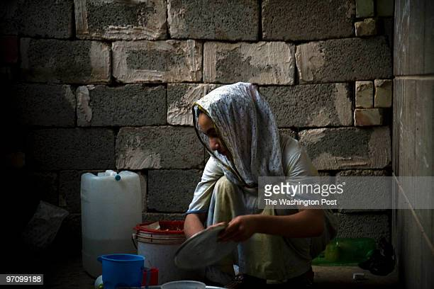 Shehad Shehad has left the mosque only twice since her family sought refuge here two years ago Her skin is pale and young long hidden from Iraq's...
