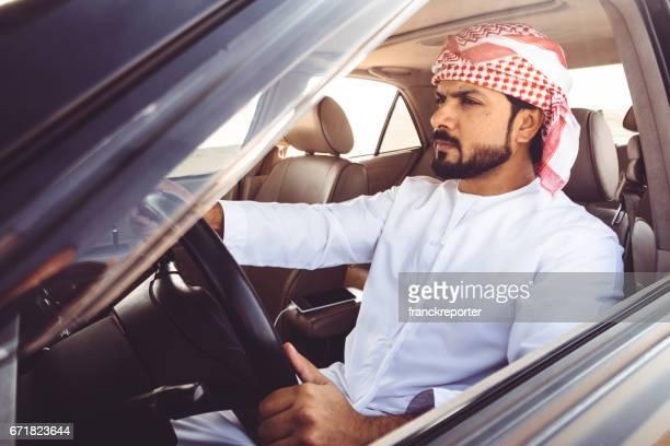 sheik driving the car