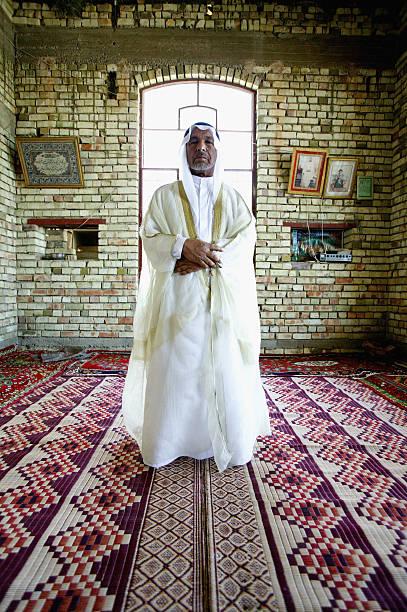 Sheik Fadel Mesrel Al-Jumail Portrait