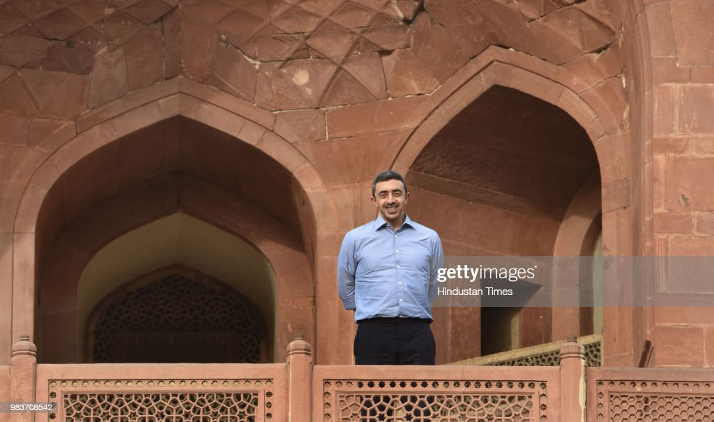 Sheikh Abdullah Bin Zayed Bin Sultan Al Nahyan, UAE Minister Of Foreign Affairs And International Cooperation Visits Humayun Tomb