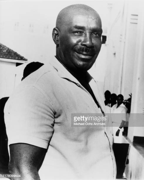 Sheikh Abeid Karume the first President of Zanzibar and Vice President of Tanzania following its independence circa 1965