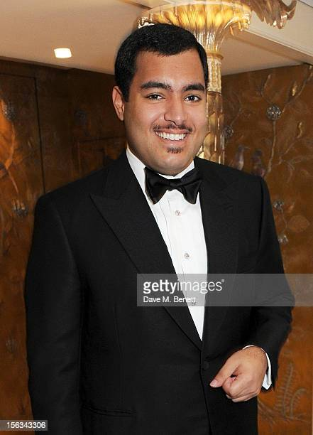 Sheikh Fahad Al Thani attends the Cartier Racing Awards 2012 at The Dorchester on November 13 2012 in London England